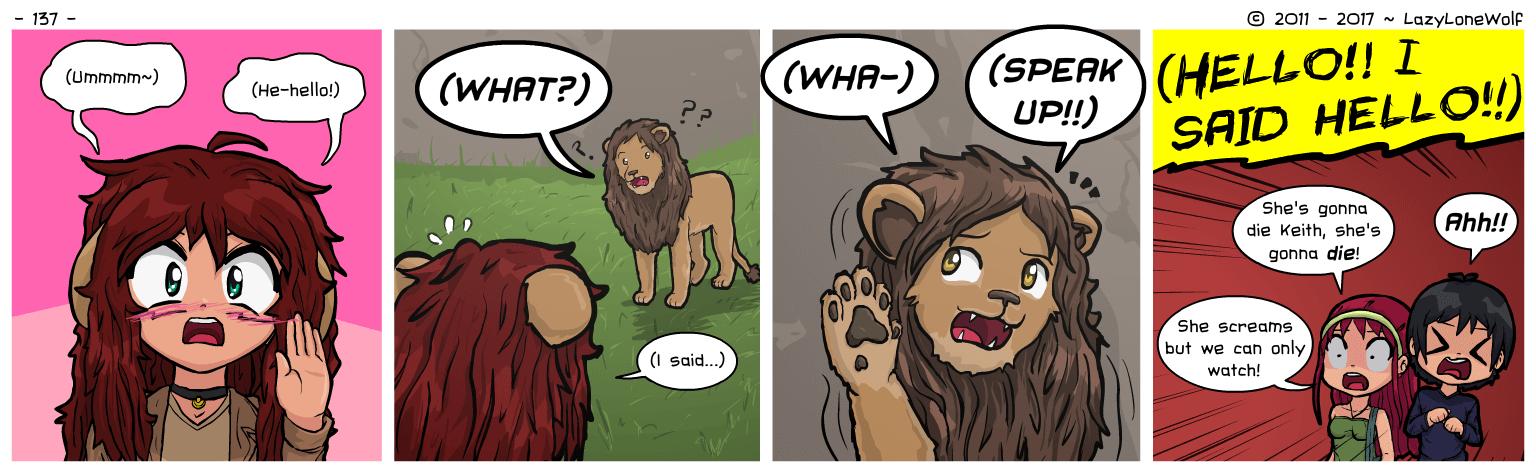 Alternate first panel: I'm Myan! Cat! Single!
