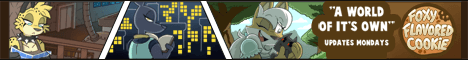 Banner for the Foxy Flavored Cookie webcomic