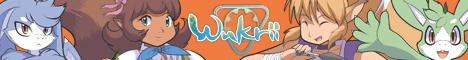 Banner for the webcomic Wukrii