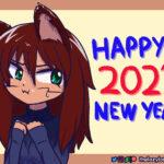 Bonus artwork of Myan for New Year 2021