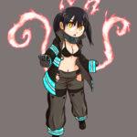 Fan artwork of Tamaki Kotatsu from Fire Force
